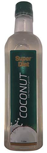 Super Diet Organic Coconut Oil 1000ml