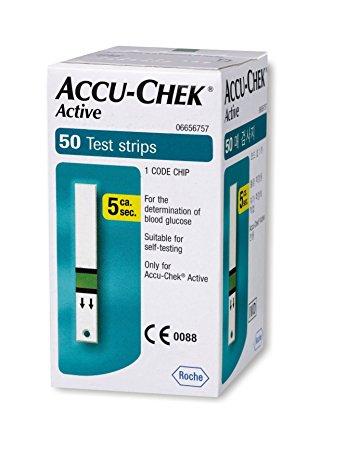 Accu Check Active 50 test strips