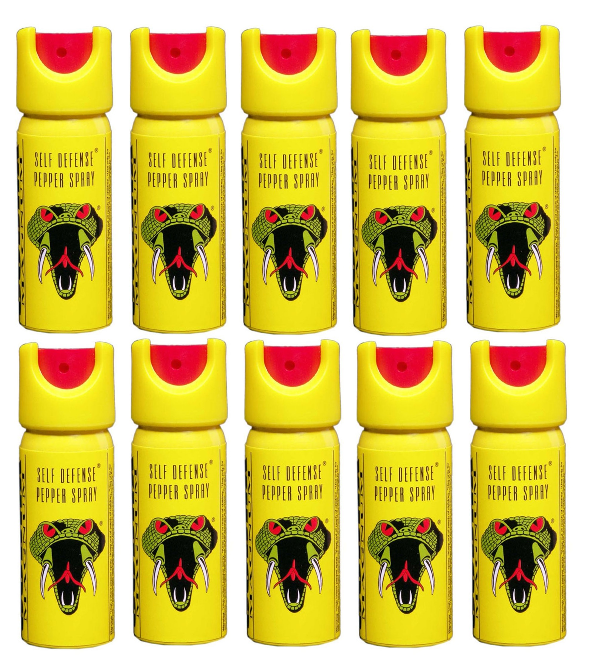 Cobra Magnum Pepper Spray Pack Of 10