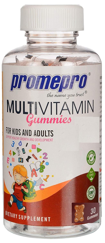 Promepro Multivitamin Gummies Immunity Booster Mixed Fruit 30`s
