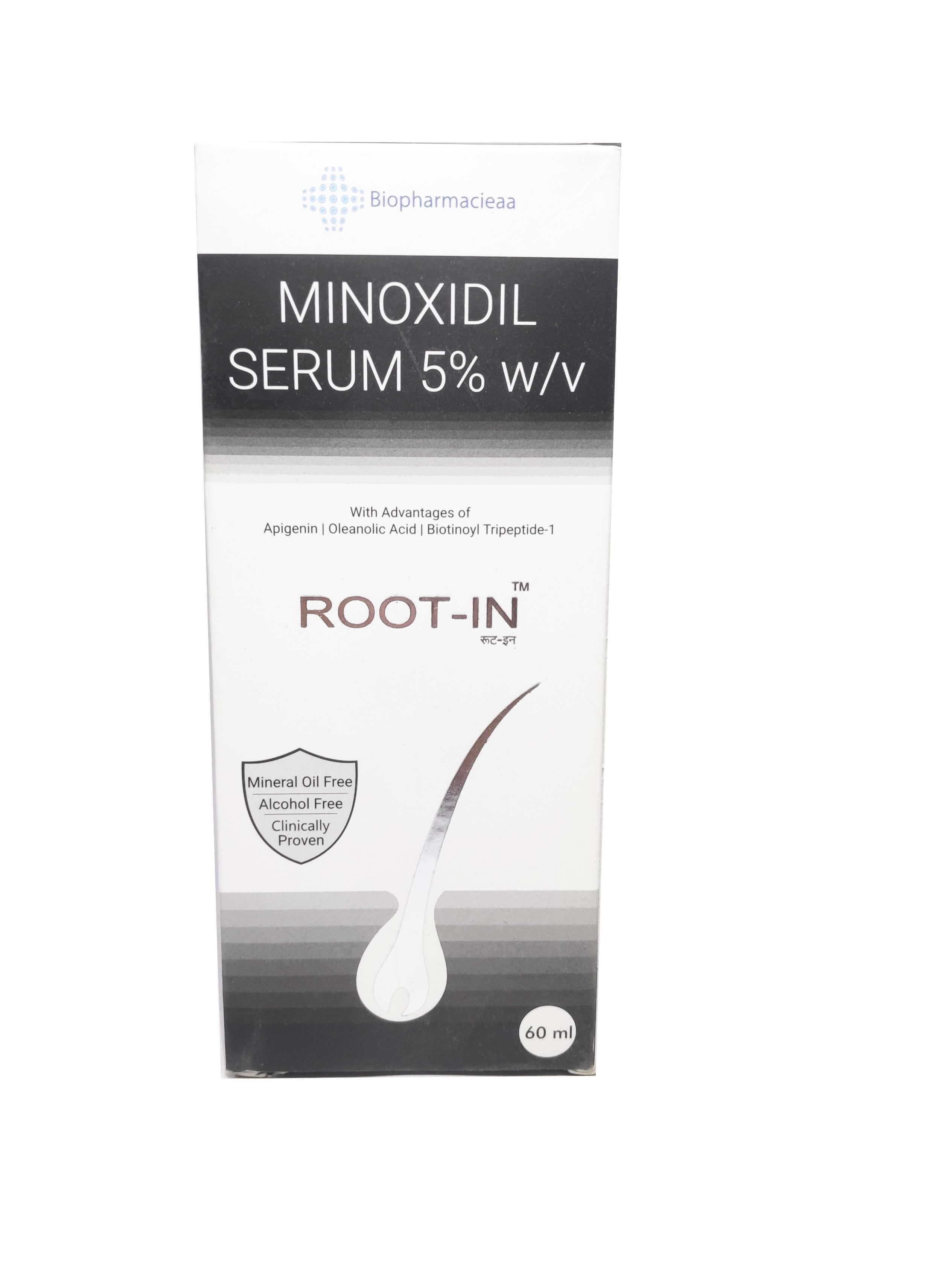 Root-in Minoxoxidil serum 60ML