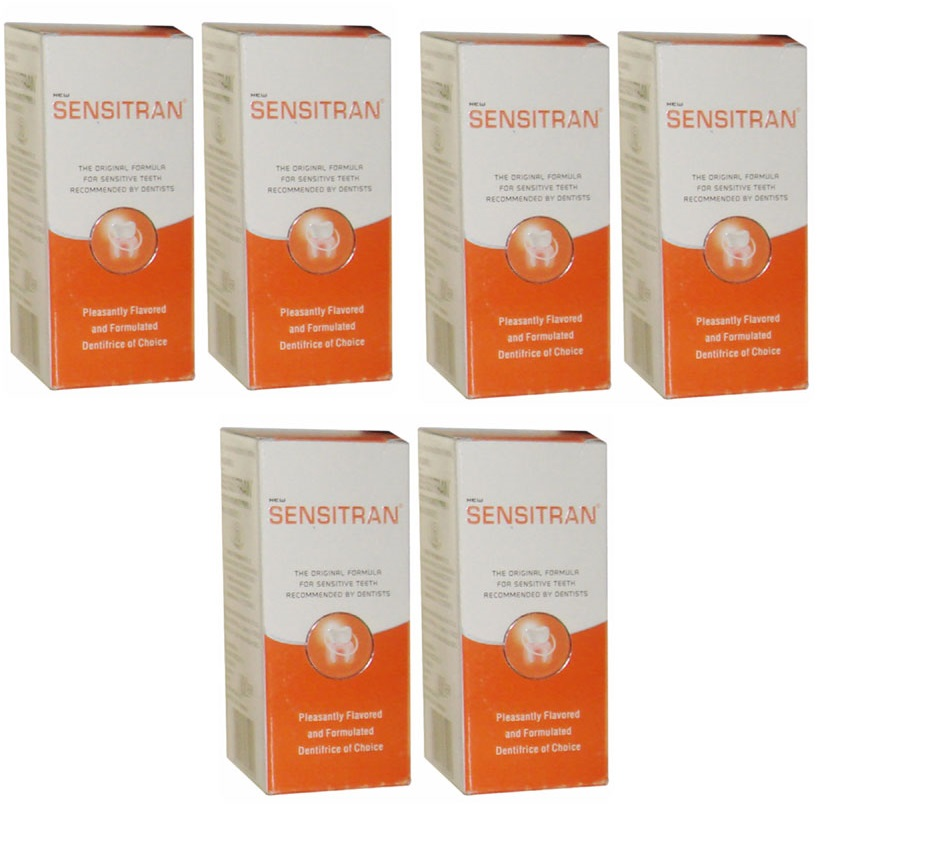 Sensitran Tooth Powder  100gm Pack Of 6