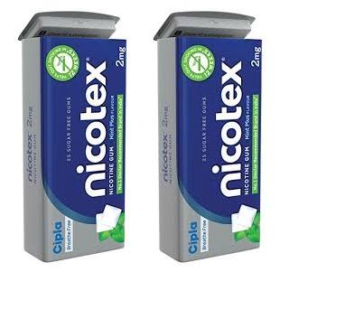 Nicotex Tin Mint Plus Flavour Pack Of 2