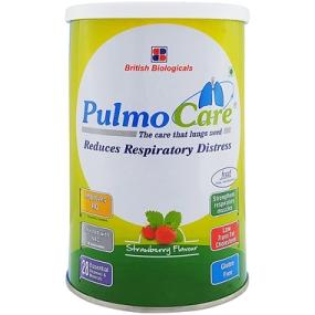 PulmoCare strawberry flavour 200g
