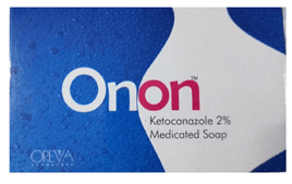 Onon Ketoconazole 2 Medicated Soap Pack of 2