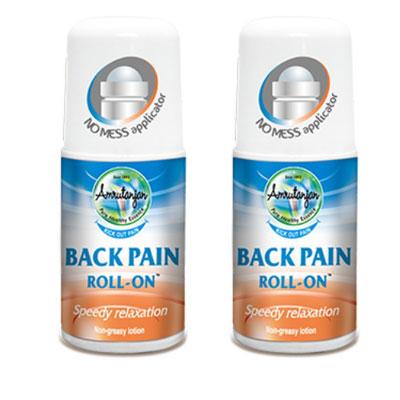 Amruthanjan Back pain roll on 50ml pack of 4