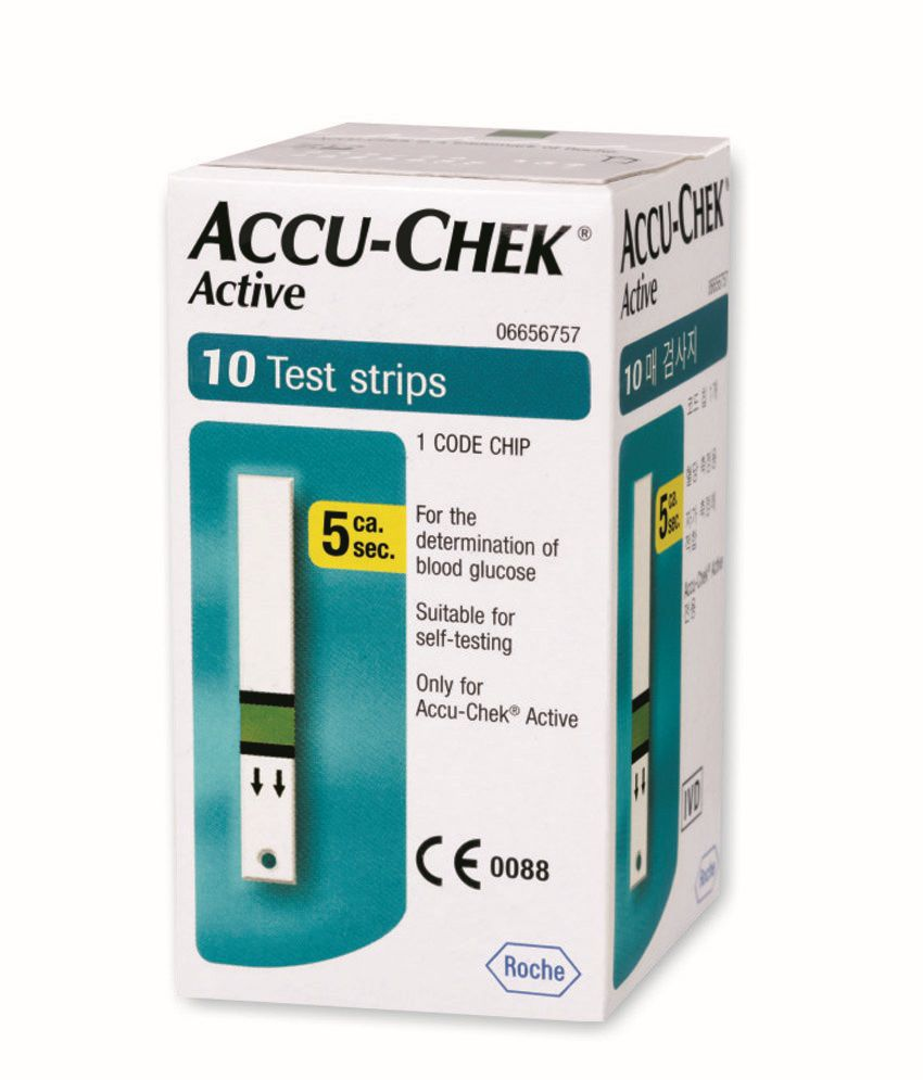 Accu Chek Active 10 Strips