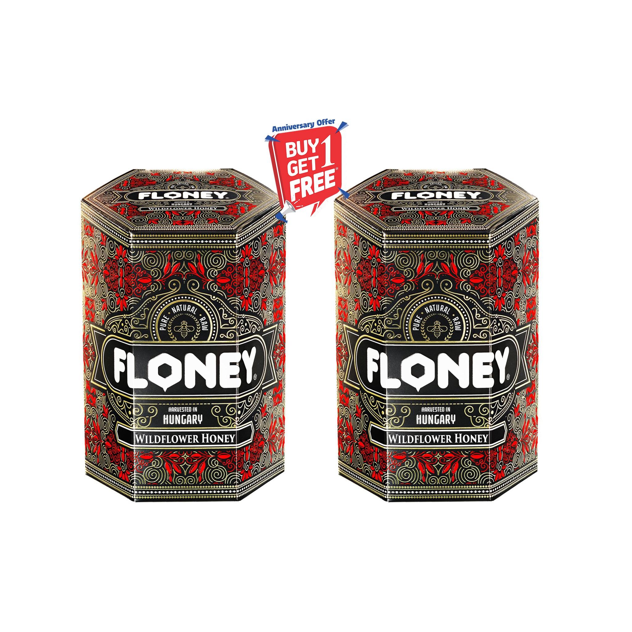 Floney Wild Flower Honey 250 gm Buy 1 Get 1 Free