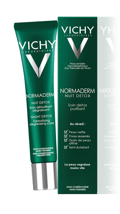 Vichy Normaderm Night Detox Cream...