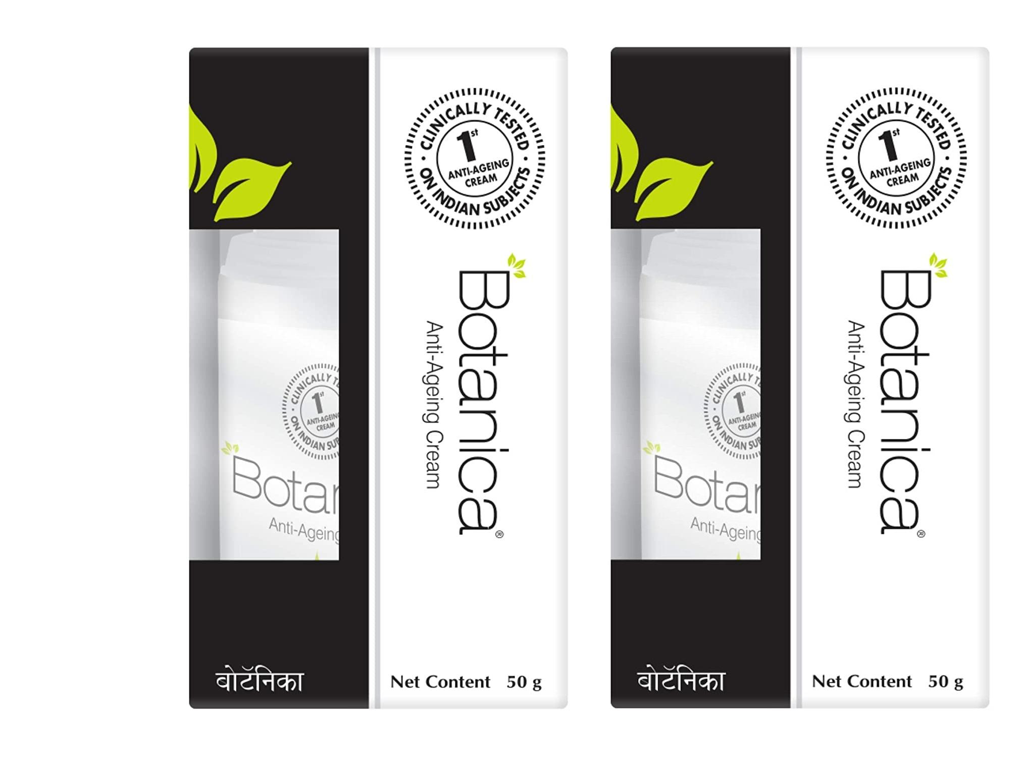 Botanica Anti Ageing Cream 50g Pack Of 2