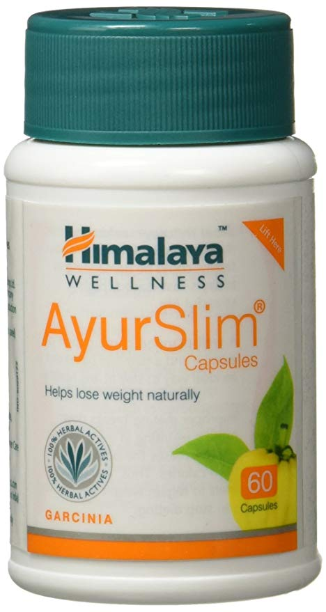 Himalaya Wellness AyurSlim Capsules Weight Management  60 Capsules Pack of 2