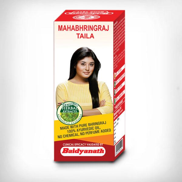 MAHABHRINGRAJ TAILA 50ML  pack of 4