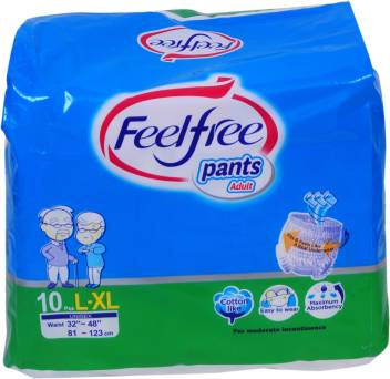 FeelFree Adult Diapers L - XL 10`S
