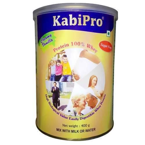 KABIPRO CREAMY VANILLA WHEY PROTEIN 400GM POWDER