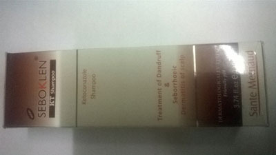 Seboklen KT shampoo 110ml