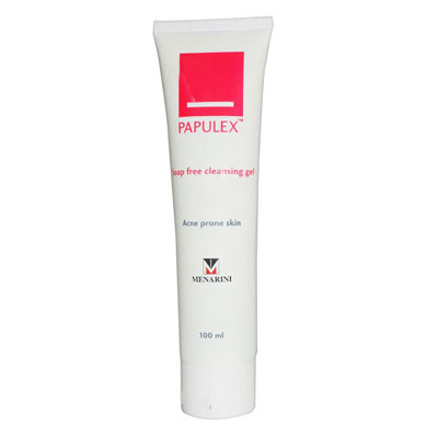 Papulex Soap Free Cleansing Gel 100 ml