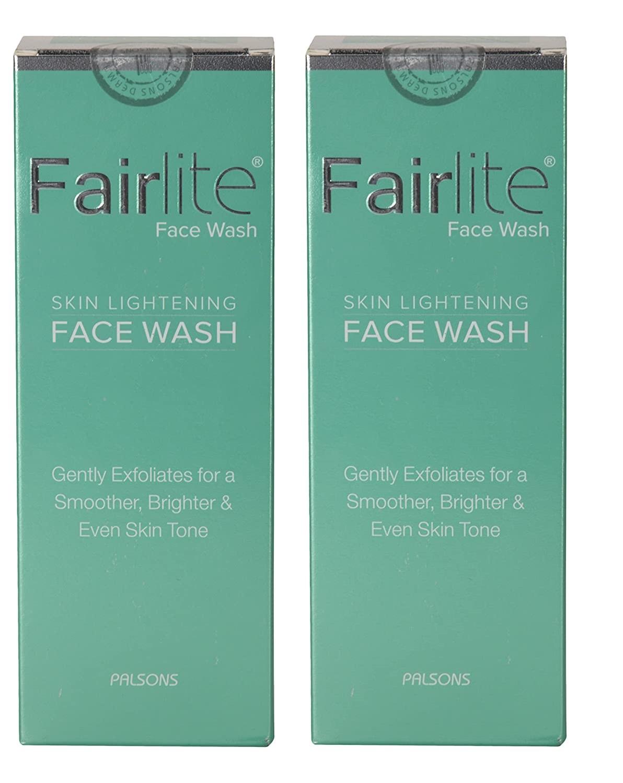 Fairlite skin lightening  facewash 90ml Pack Of 2