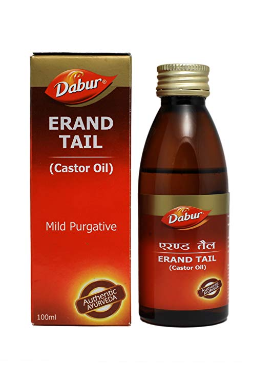 Dabur Erand TailCastor Oil  100 ml pack of 2