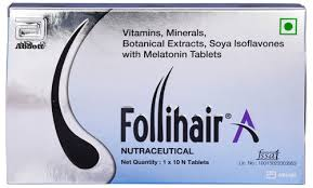 Follihair A Tablets 30'S