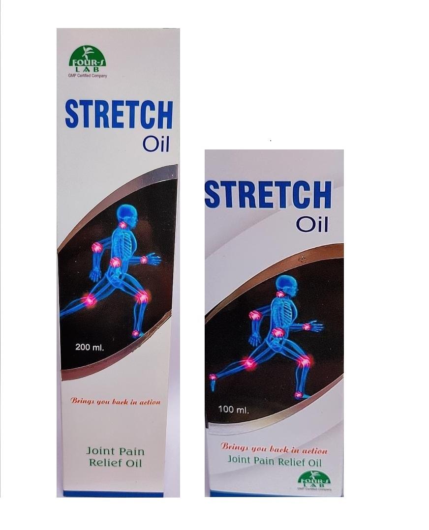 STRETCH OIL 200 ML and 100 ML