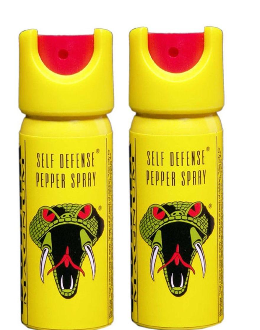COBRA SELF DEFENCE PEPPER SPRAY 35 gms  55ml  Pack Of 2