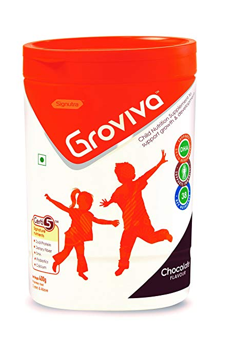 Groviva Chocolate Flavour 200g PACK OF 2