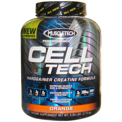 Muscletech Cell Tech Orange 2700g...