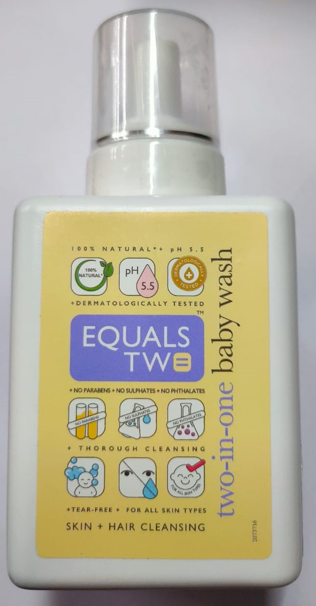 EQUALS TW Two in One Baby  Wash 500ml