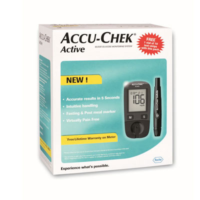 Accu Chek Active Blood Glucose Monitoring Syst