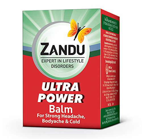 Zandu Balm Ultra Power 8 ml Pack Of 5