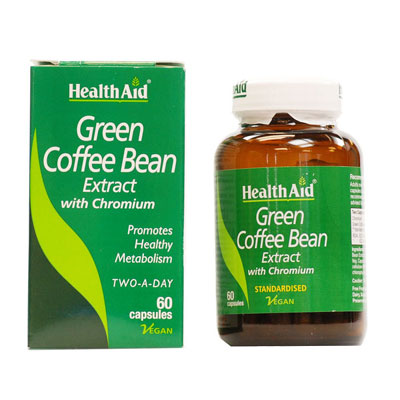 Health Aid Green Coffee Bean 60 capsules