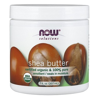 Now Foods 100 Pure Organic Shea Butter 7 Ounce