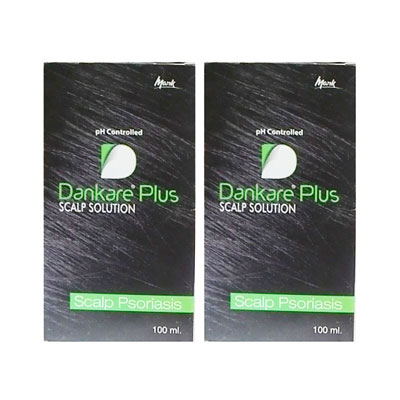 Dankare Plus Scalp Solution 100 ml pack of 2