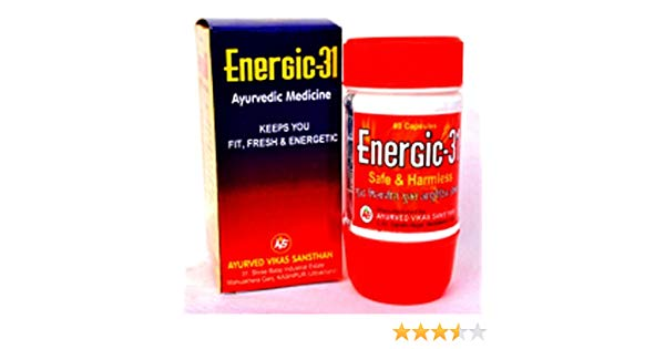 Energic31 Ayurvedic Medicine 40  capsules