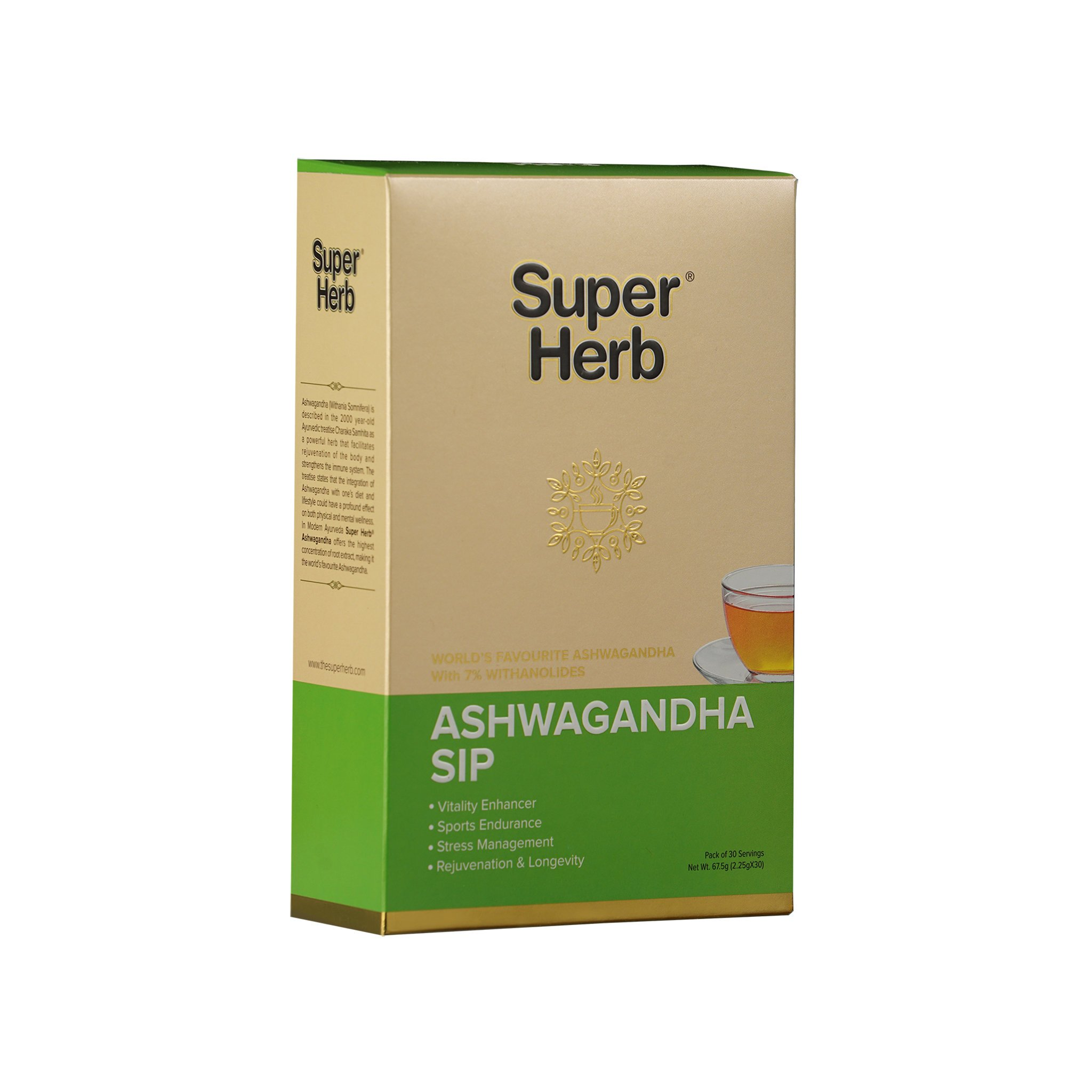 Super Herb Ashwagandha SIP 30's 2.25gms