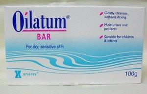 Pack of 6 Oilatum Bar Soap 100 G