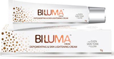 Biluma Cream 15g for de pigmenting and skin lightening