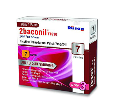 2baconil Nicotine Transdermal Patch 7mg