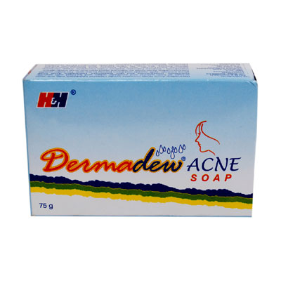 Dermadew Acne Soap 75gm