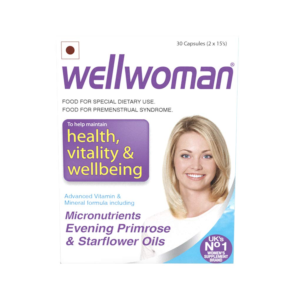 Wellwoman health vitality wellbeing 30's