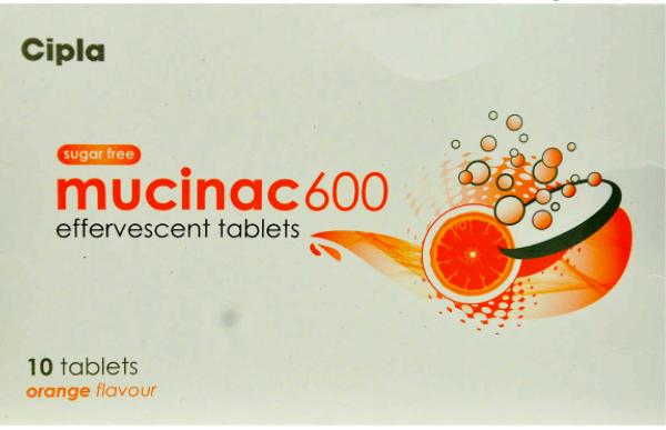 MUCINAC 600MG TABLET
