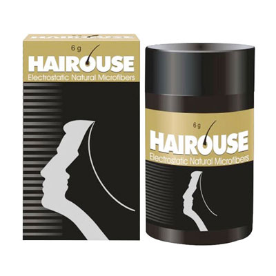 Hairouse Electrostatic Natural Microfibers 6gm black