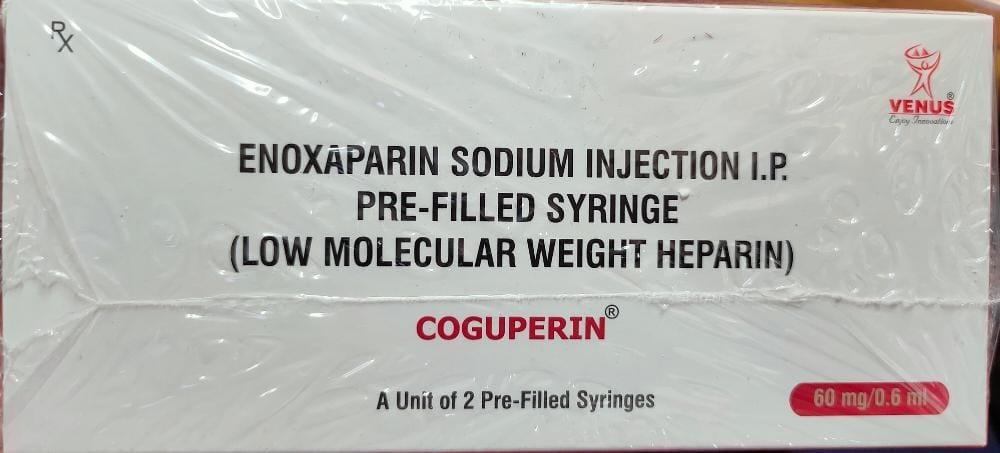 Enoxaparin Sodium Injection I.P. 60 mg  (COGUPERIN)