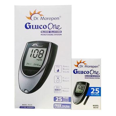 Dr.Morepen GlucoOne Blood Glucose Monitor  BG-03