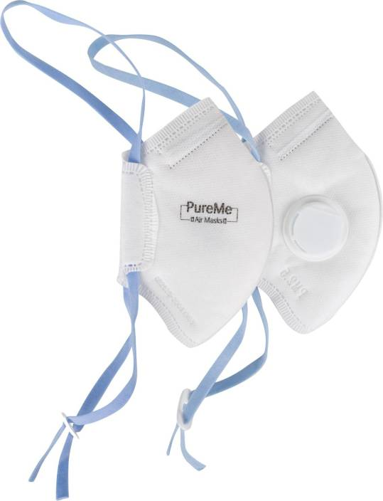 Pure Me Disposable N95 Mask Pack of 2
