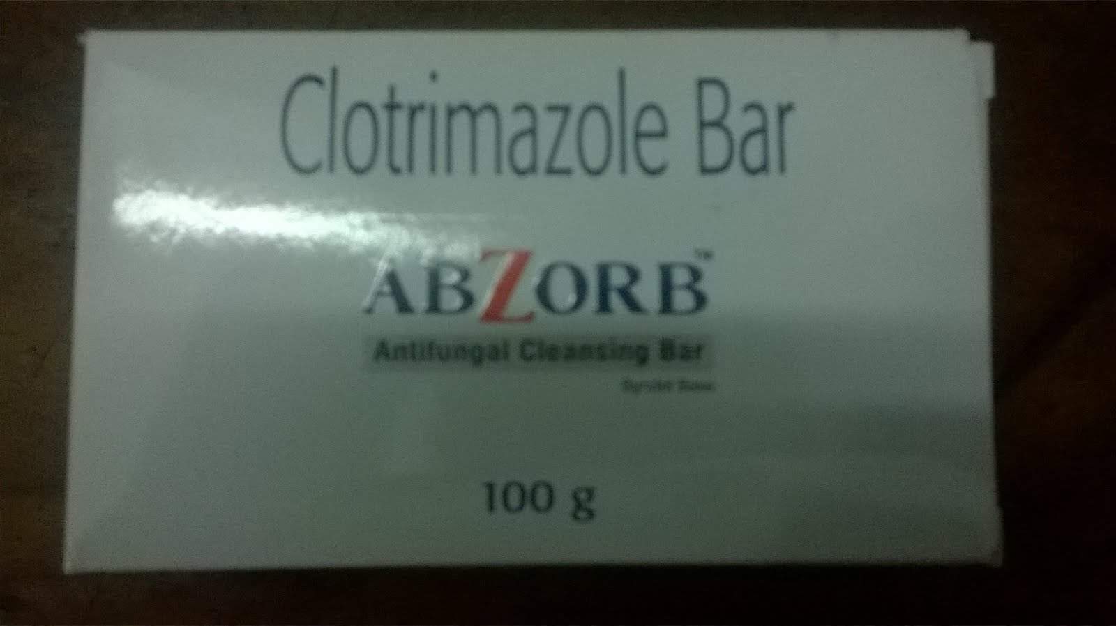 ABZORB Clotrimazole Bar pack of 3