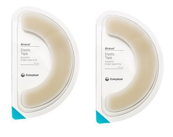 Coloplast 12070 Brava Elastic Barrier Tape 20Pieces Pack Of 2