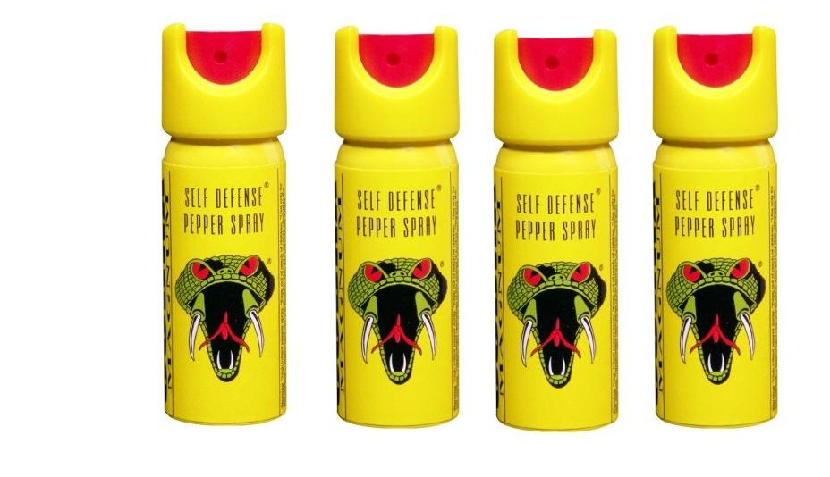 Cobra Magnum Pepper Spray Pack Of 4