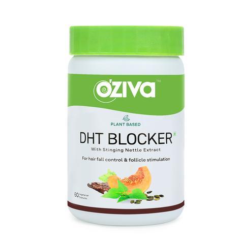 OZiva Plant Based DHT Blocker  60 Capsules