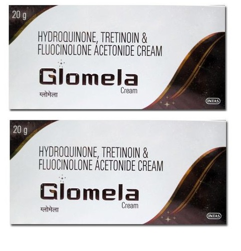 Glomela cream 20 gm Intas Pack of 2